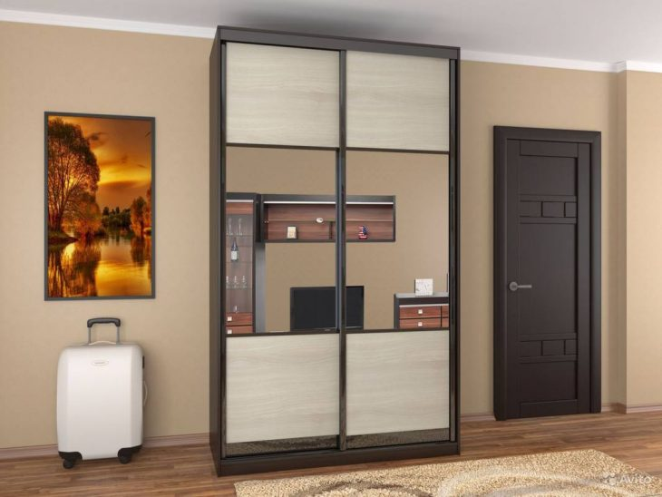 интерьер комнаты шкаф купе