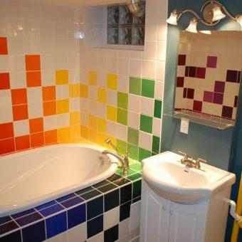 дизайн ванной комнаты отделка панелями
