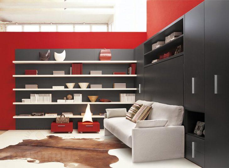 Мебель трансформер для малогабаритной квартиры 70 фото