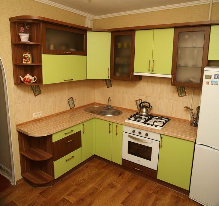 ремонт кухни реальные фото