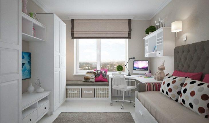 Практичный интерьер детской комнаты 70 фото