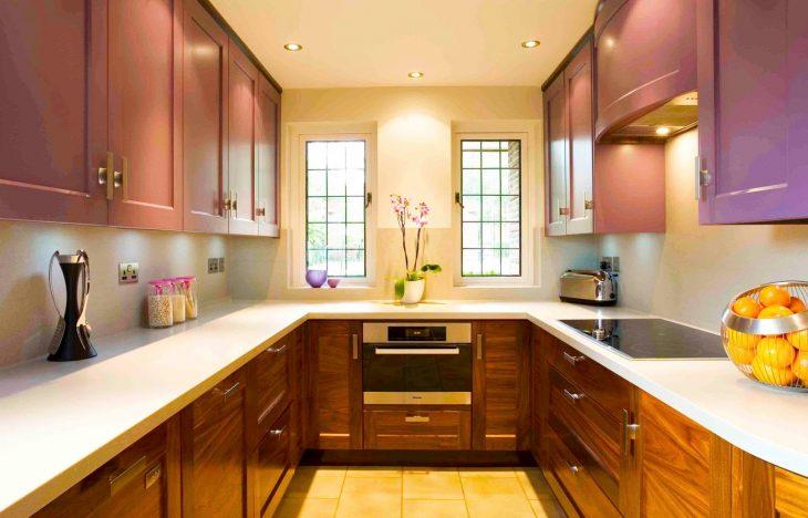 Современный интерьер кухни 2019 - 80 фото
