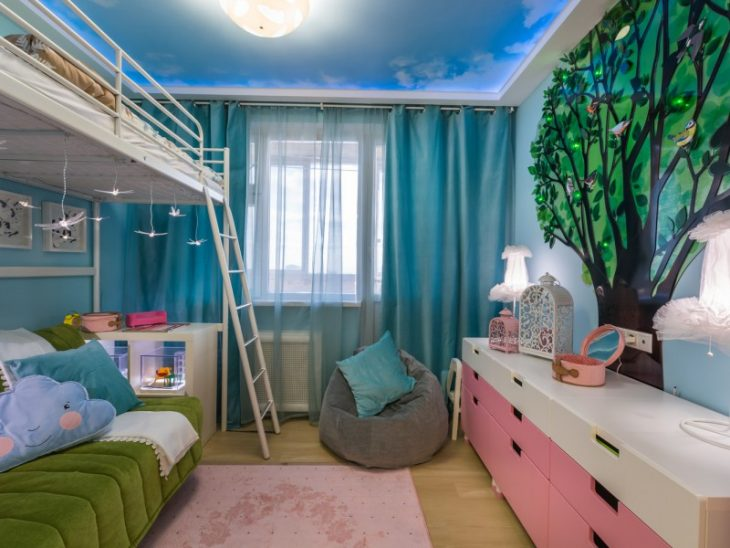 детская комната дизайн интерьера фото
