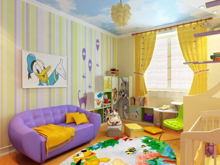стили интерьера детской комнаты