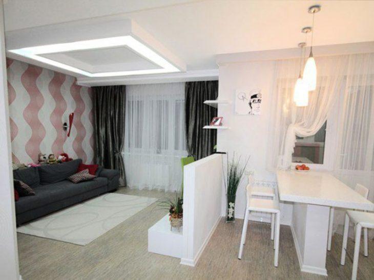 пространство маленькой квартиры