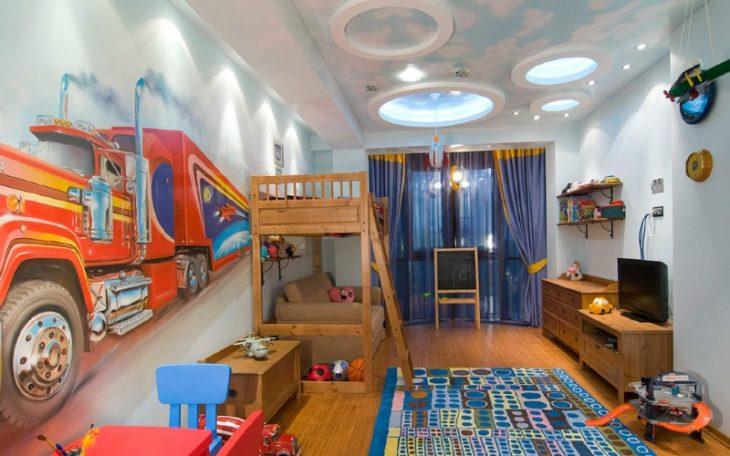 интерьер детской комнаты фото