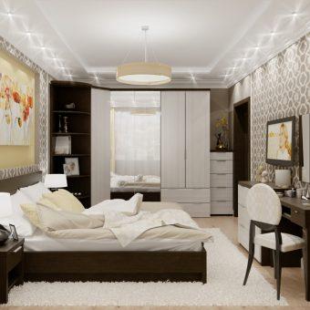 спальные гарнитуры фото дизайн 2018