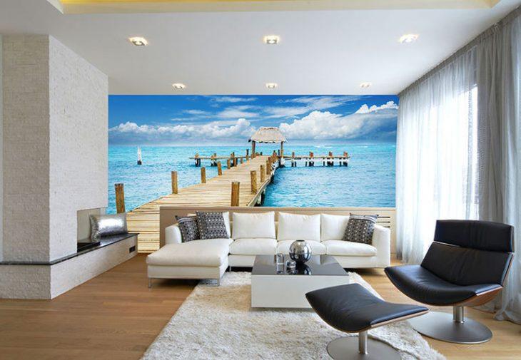 Фотообои в интерьере квартиры 65 фото примеров
