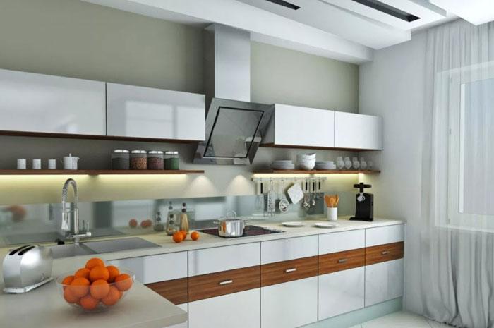 стиль хай тек в интерьере кухни