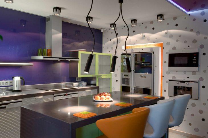 интерьер кухни в современном стиле