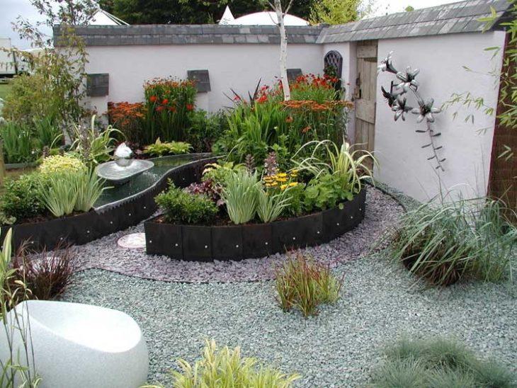 дизайн садового участка загородного дома