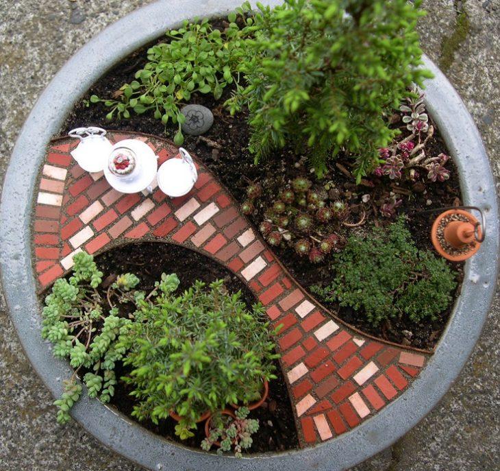 дизайн садового участка 10 соток фото