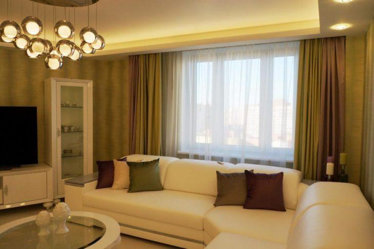дизайн интерьера гостиной в квартире