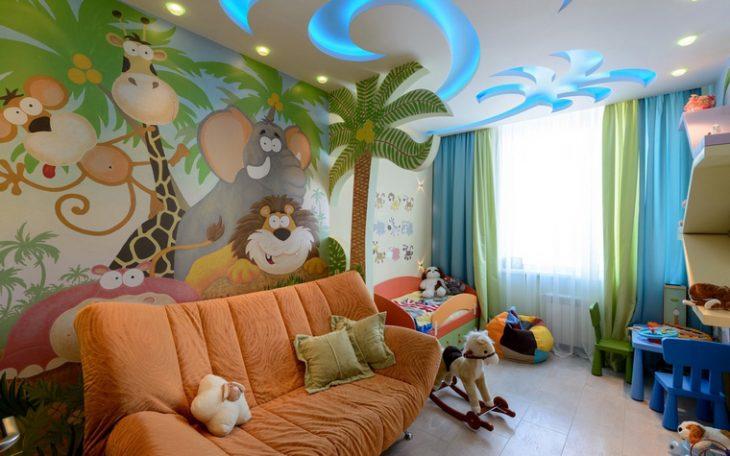 диван в детскую комнату