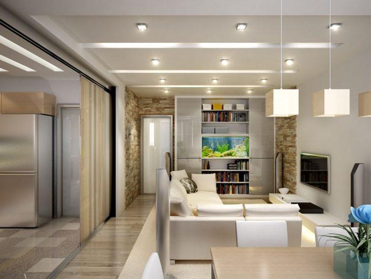 дизайн интерьера реальных квартир
