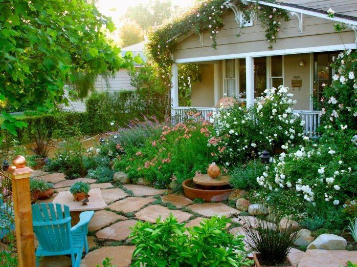 Ландшафтный дизайн садового участка 75 фото примеров