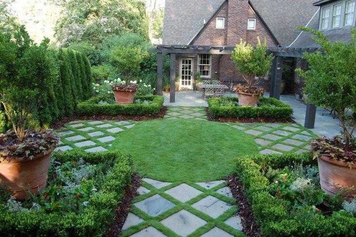 обустройство сада и ландшафтный дизайн