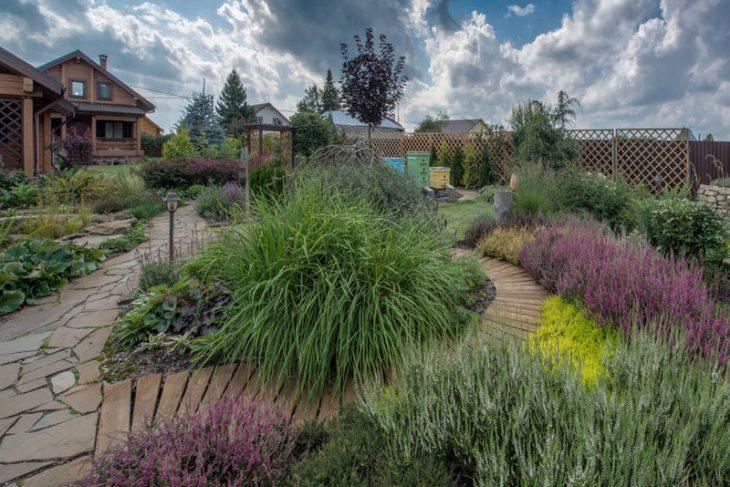 ландшафтный дизайн маленького садового участка