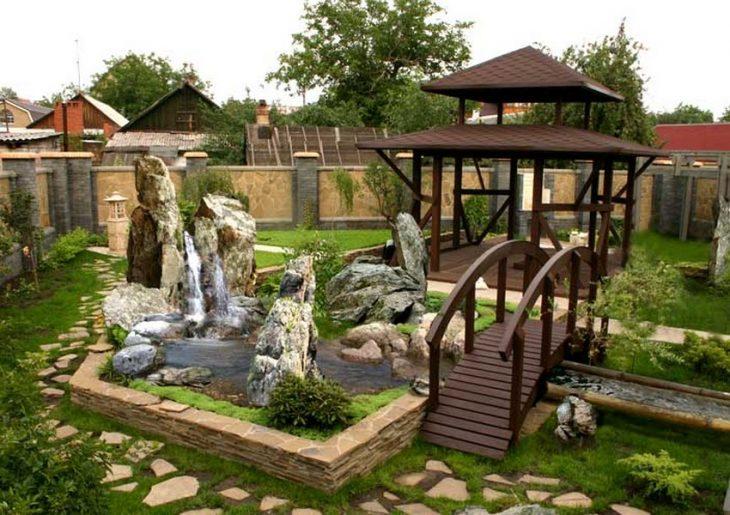 ландшафтный дизайн садового участка фото
