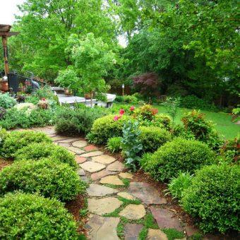 ландшафтный дизайн красивых садов