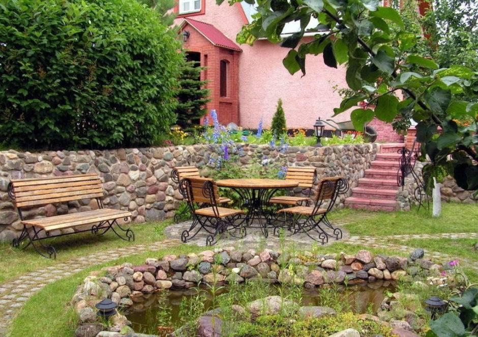 ландшафтный дизайн маленького сада