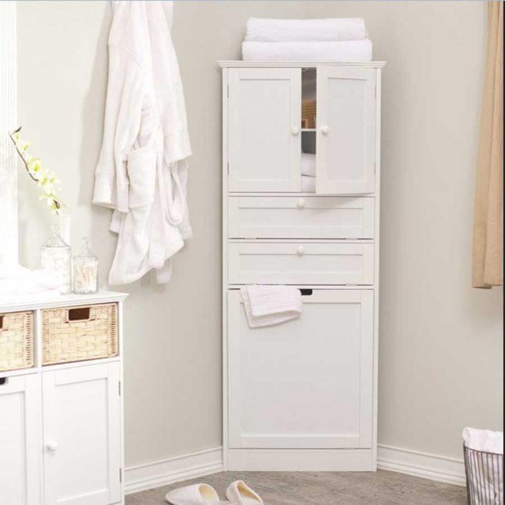 шкаф в ванную комнату навесной