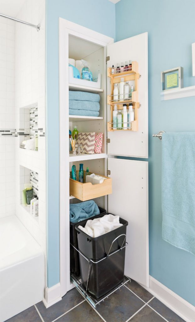 шкаф под раковину в ванную комнату