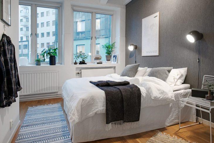 спальня в скандинавском стиле фото