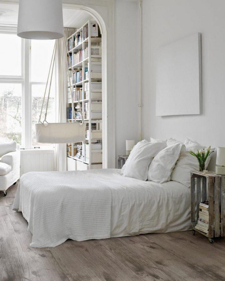 мебель спальни в скандинавском стиле