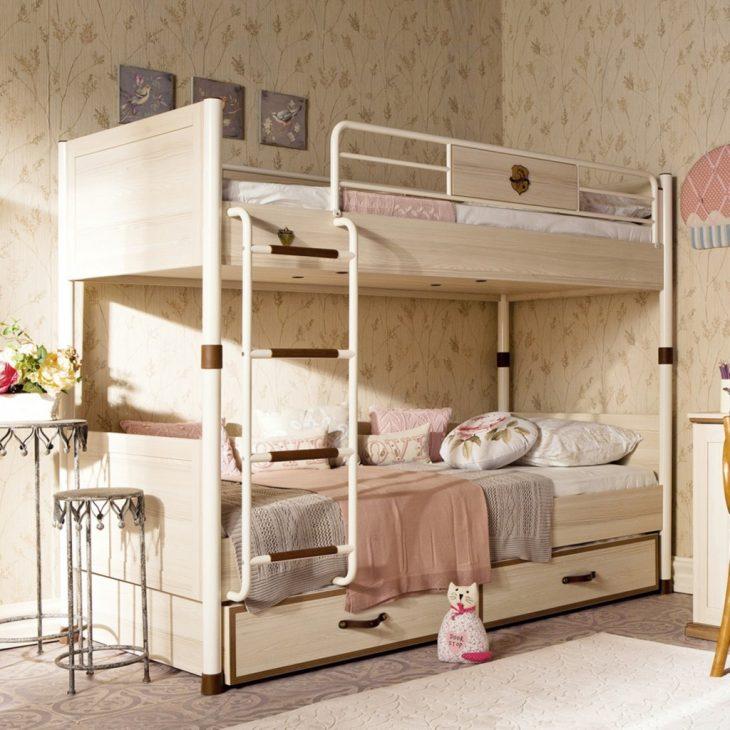 двухъярусная кровать в интерьере