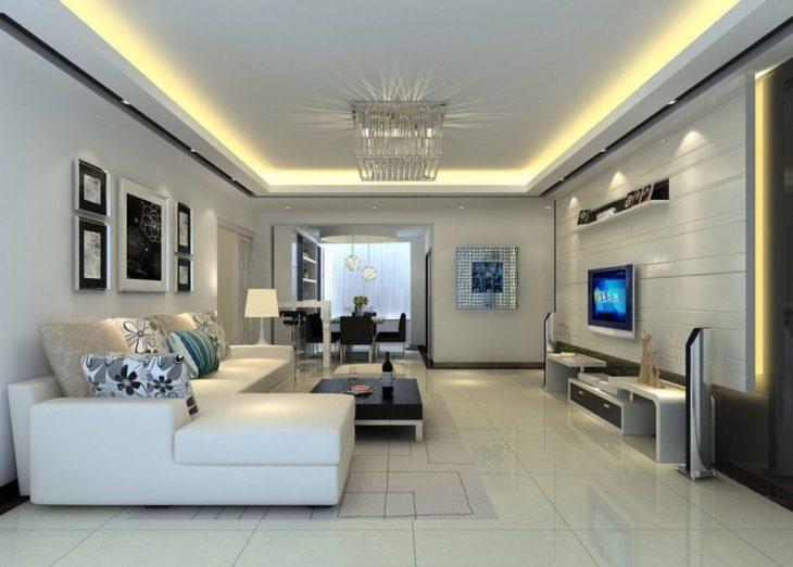 Дизайн потолков в квартире - 80 фото идеи дизайна потолка