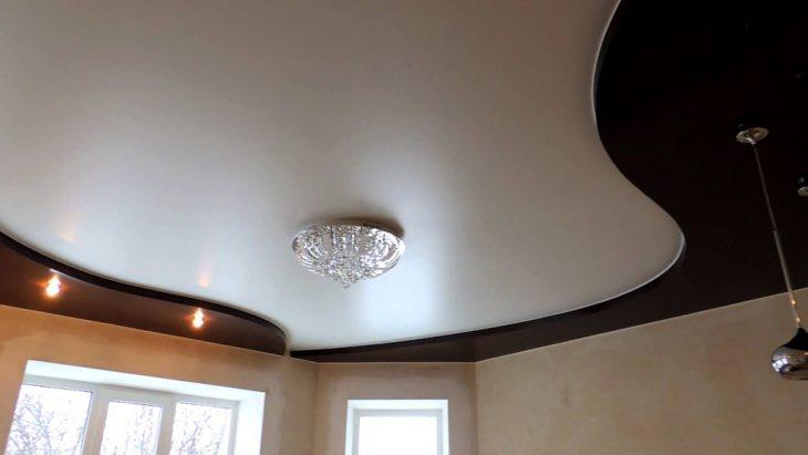 современный дизайн потолков фото