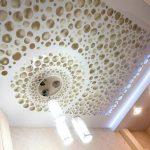 дизайн двухуровневых потолков