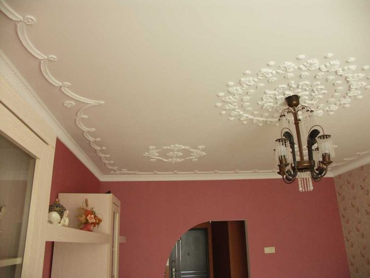 варианты дизайна потолков