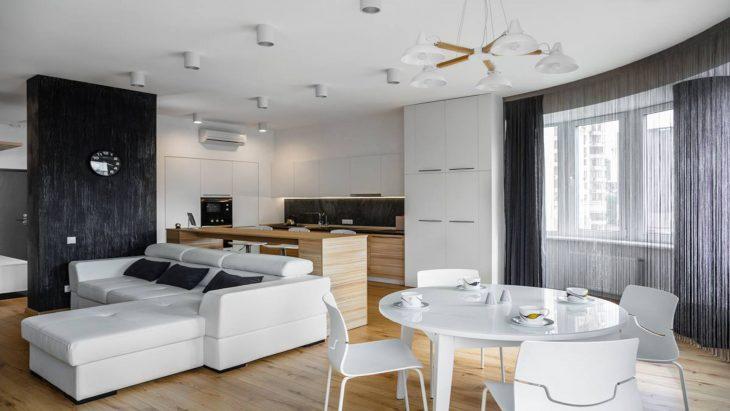 дизайн однокомнатной квартиры студии