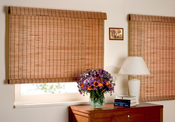 Деревянные жалюзи на окна 75 фото дизайна
