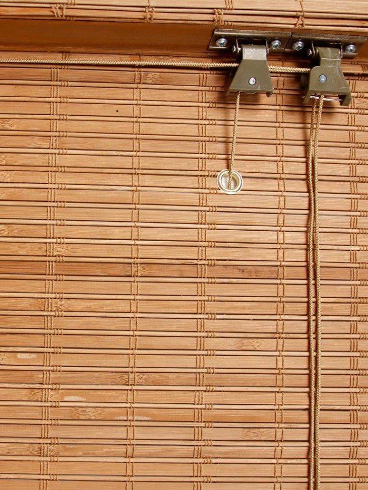 деревянные жалюзи фото