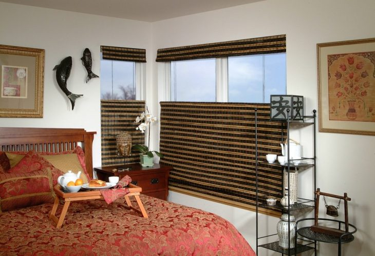 деревянные жалюзи на окна