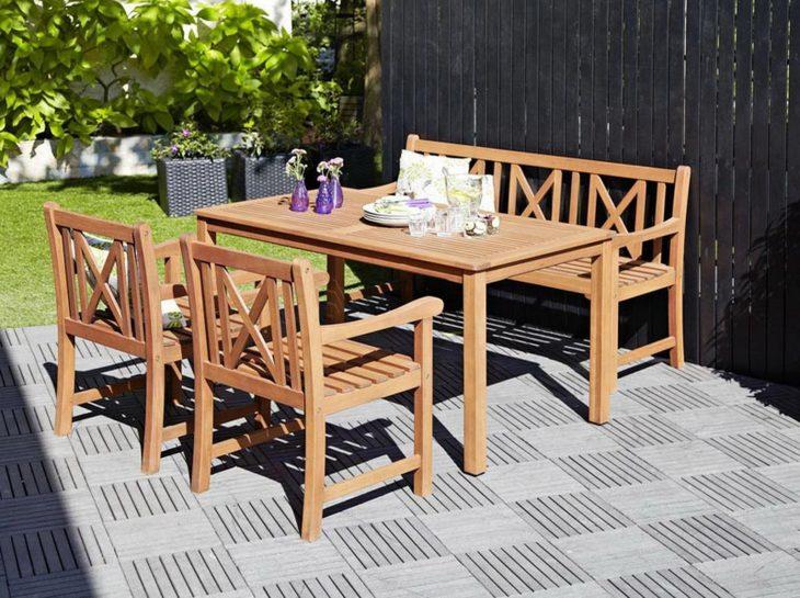 Мебель для дачи и сада - 100 фото наборов уличной мебели