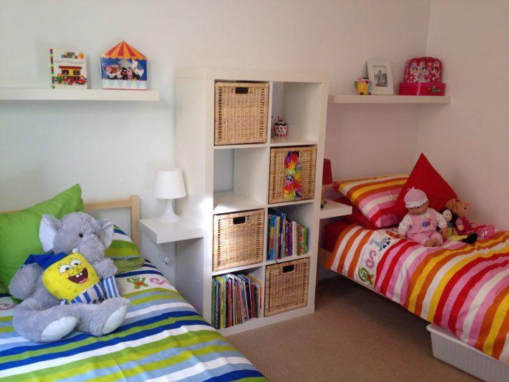 идеи детских комнат для разнополых детей