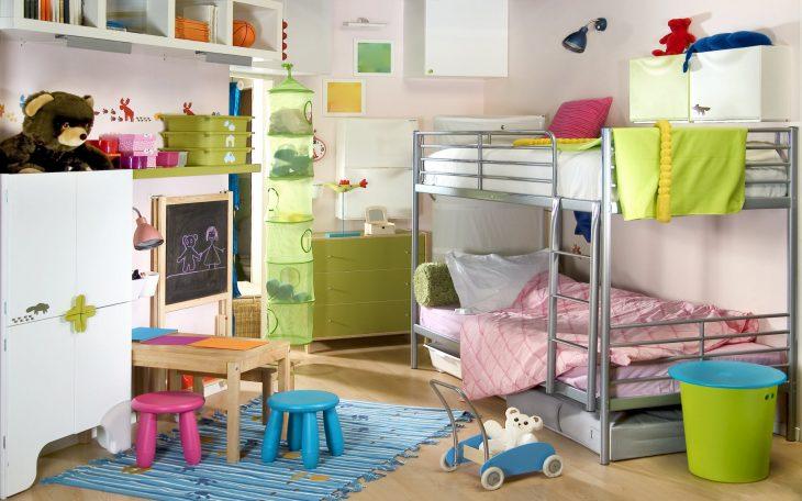 разделить комнату для мальчика и девочки