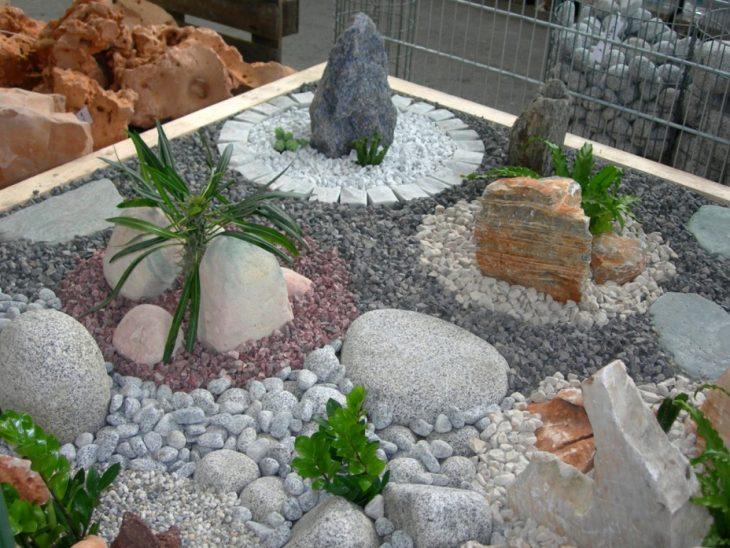 как сделать сад камней