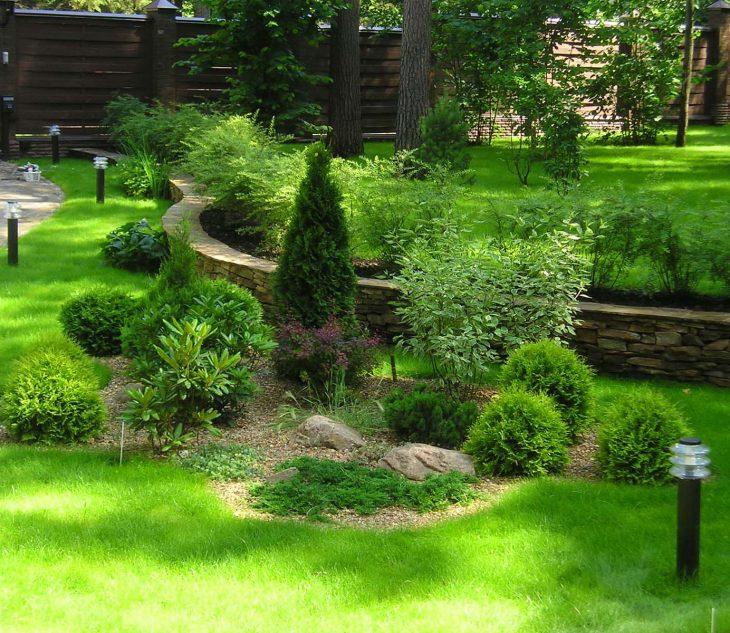 виды садов ландшафтным дизайн