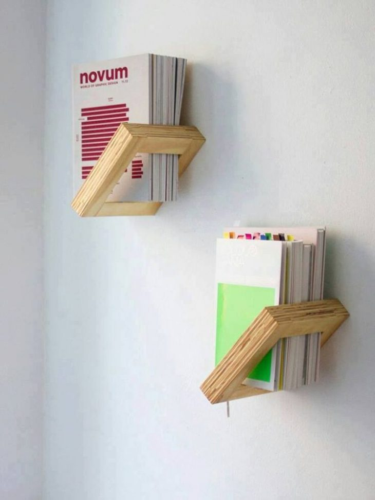 Книжные полки своими руками. Как сделать книжную полку (70 фото+видео)