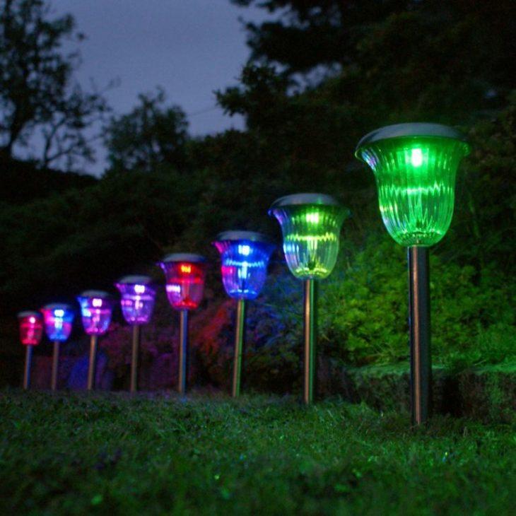 солнечные светодиодные лампы