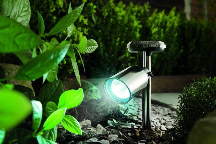солнечные лампы для сада