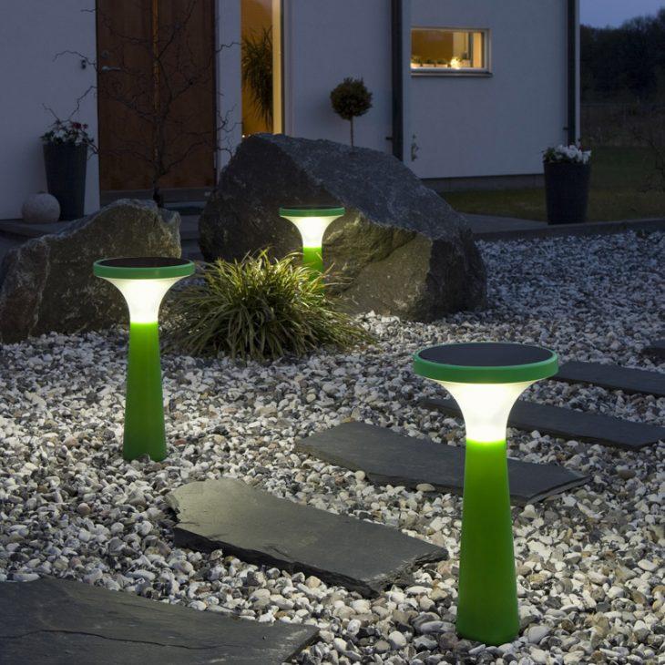 светодиодные лампы на солнечных батареях