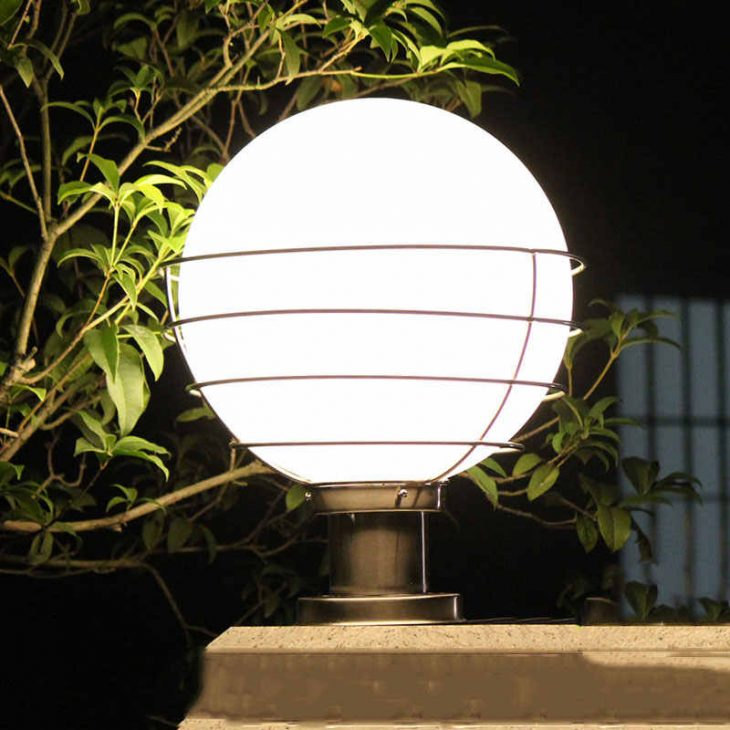 солнечные лампы для дачи