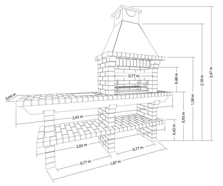 Строительство барбекю своими руками — 85 фото. Кладка уличного барбекю - Быт