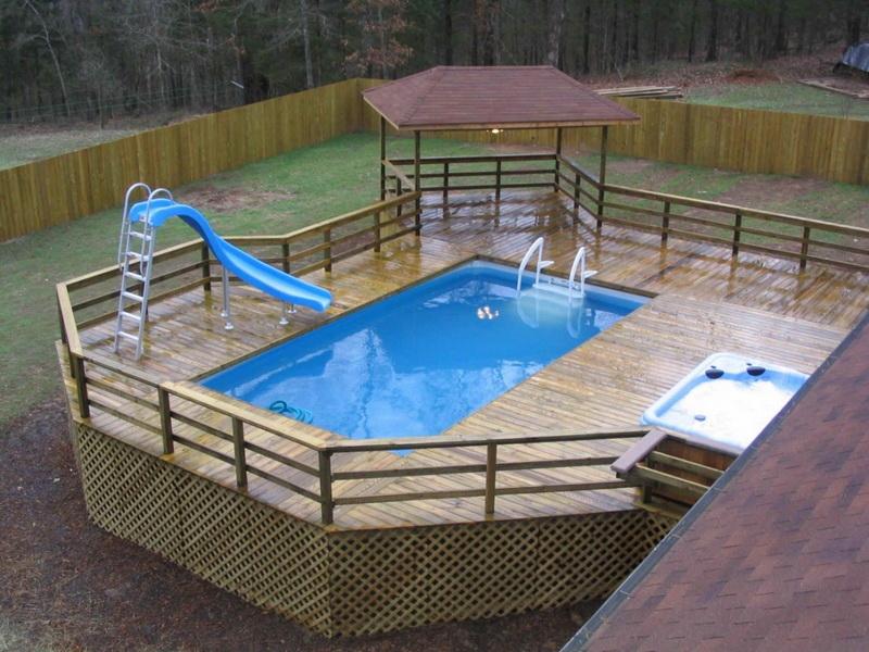 Как сделать бассейн в частном доме или на даче своими руками из подручных материалов (100 фото) - Обзор